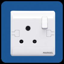 M3PRS01 (15A 3 Pin Round Socket )
